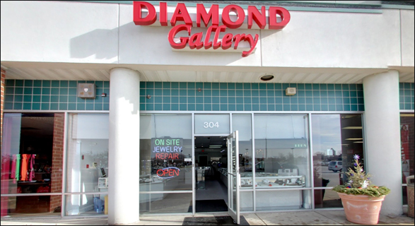 THE DIAMOND GALLERY OF NAPERVILLE, ILLINOIS