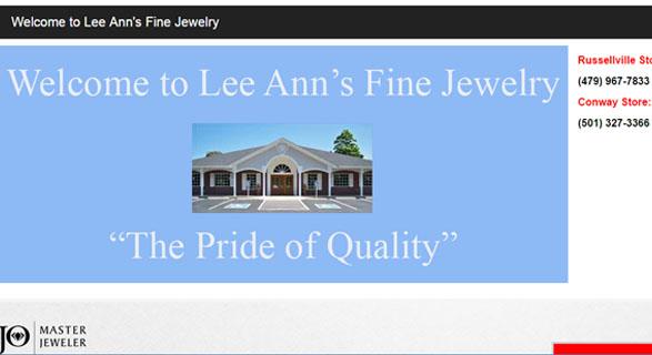LEE ANN'S FINE JEWELRY, ARKANSAS