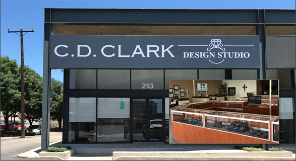 C. D. CLARK DIAMONDS and DESIGN STUDIO, TEXAS