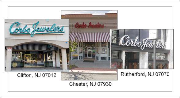 CORBO JEWELERS , NEW JERSEY