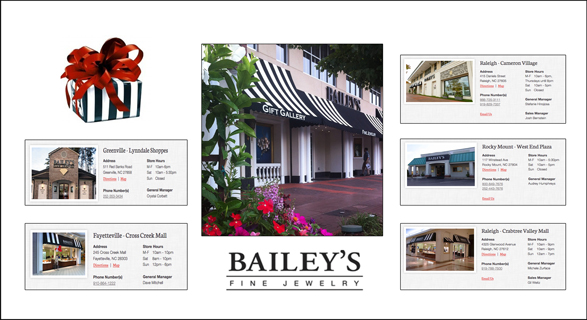 BAILEY'S FINE JEWELRY, NORTH CAROLINA