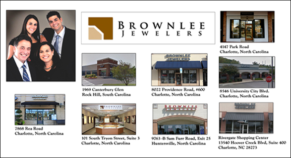BROWNLEE JEWELERS, NORTH CAROLINA